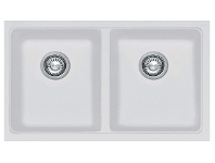 Appliances Online Franke KBG120BPW Kubus Double Bowl Undermount Sink