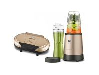 Appliances Online Kambrook KBL188CMPKPC120GLD Power Blender and Pancake Maker Pack