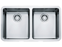 Appliances Online Franke KBX120-34OFB Kubus Double Bowl Undermount Sink