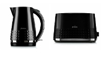 Appliances Online Sunbeam Diamond Collection Kettle and 2 Slice Toaster KE1900KTA1900K