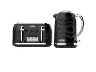 Appliances Online Sunbeam Coastal Collection Kettle and 4 Slice Toaster KE2500KPTA2540KP