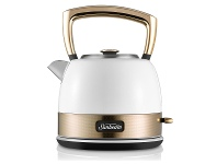Appliances Online Sunbeam KE4410WG New York Pot Kettle White Gold
