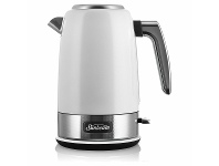 Appliances Online Sunbeam New York White Silver Kettle KE4430WS