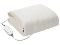 Appliances Online Kambrook King Single Fitted Electric Blanket KEB415WHT