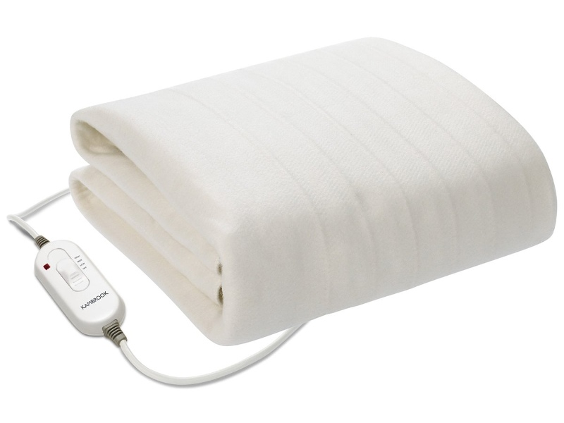 Kambrook King Single Fitted Electric Blanket KEB415WHT