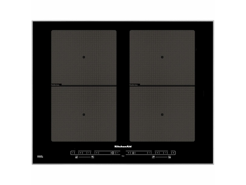KitchenAid 65cm Dual Flexi Induction Cooktop KHID4 65510