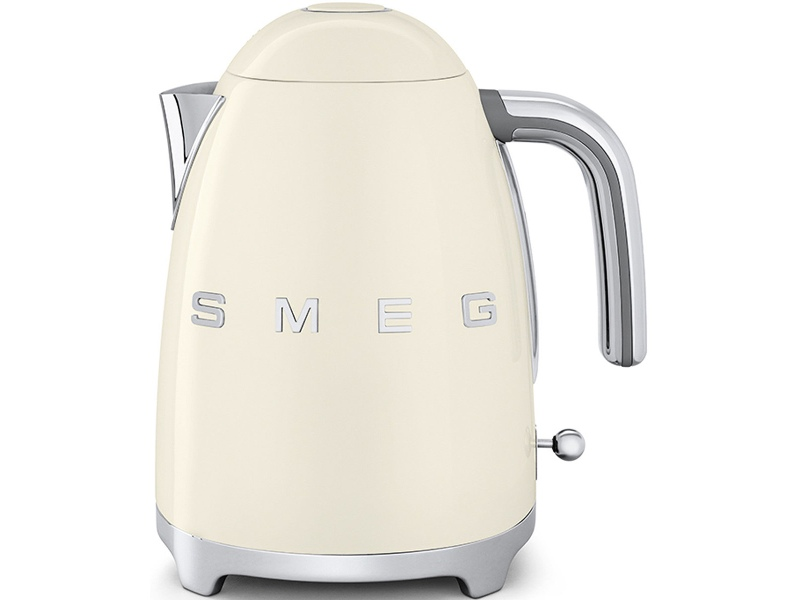 Smeg KLF03CRAU 50s Retro Style Aesthetic Electric Kettle Cream