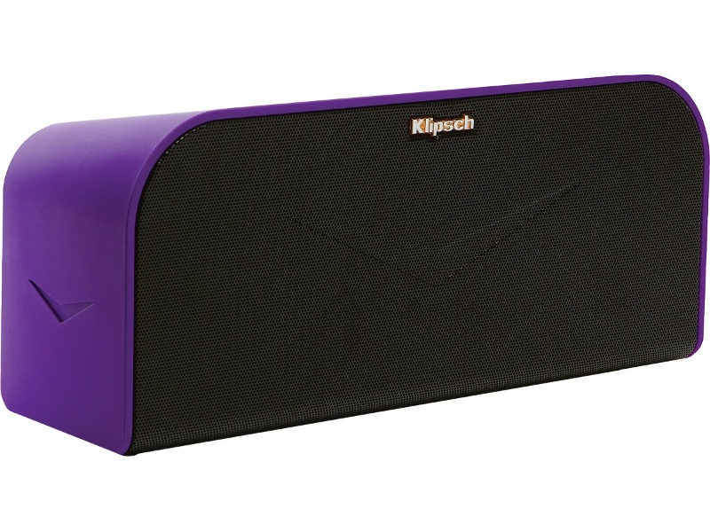 Klipsch KMC1PURPLE Portable Speaker with Bluetooth and NFC