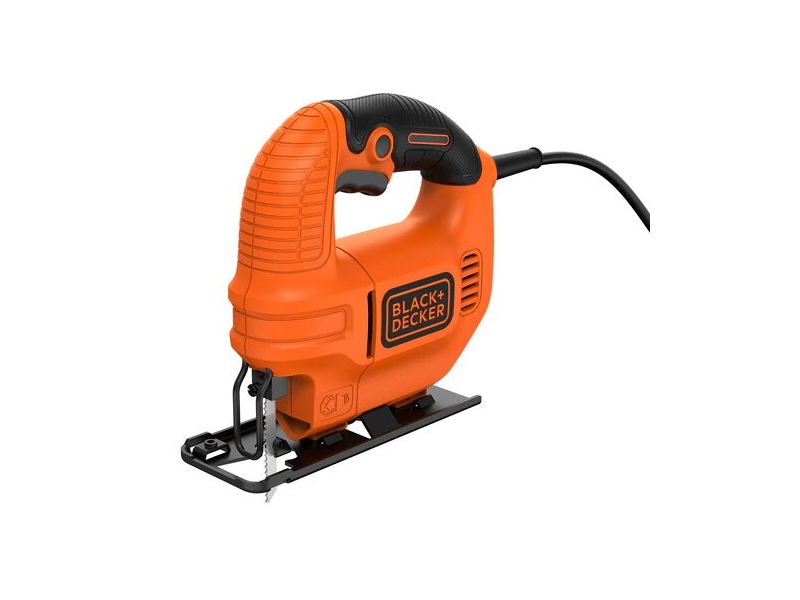 Black & Decker KS501-XE 400W Compact Jigsaw with Blade