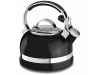 Appliances Online KitchenAid 1.9L Stove-top Kettle with Full Stainless Steel Handle and Trim Band KTEN20SBOB