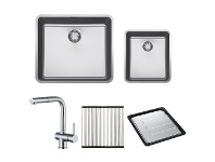 Appliances Online Franke KUBUS-NARTA-FPC Kubus i3 Sink Pack