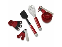 Appliances Online KitchenAid 100 Year Queen Of Hearts Baking Utensil Set KX400EXSDI