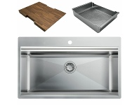 Appliances Online Artinox Layer 86 Workstation Sink with Accessories LACCBRP086