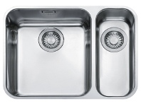 Appliances Online Franke LAX160SBR Largo 1 and 1/3 Bowl Undermount Sink