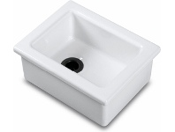 Appliances Online Shaws LB0300010 Laboratory Type 4 Single Bowl Handcrafted Fireclay Sink
