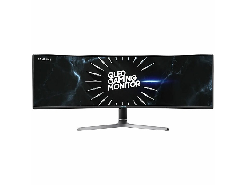 Samsung 49 Inch Curved QLED Monitor with Dual QHD LC49RG90SSEXXY