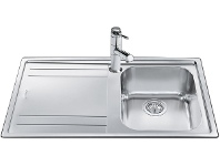 Appliances Online Smeg LE861A-2 Single Bowl Left Hand Drainer Sink