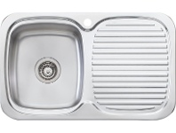 Appliances Online Oliveri LL116 Lakeland Single Bowl Right Hand Drainer Sink