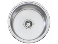 Appliances Online Oliveri LR510 Solitaire Round Bowl Sink