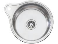 Appliances Online Oliveri LR515 Solitaire Round Bowl Sink