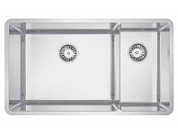 Appliances Online Abey LUA221 Lucia 1 and 3/4 Topmount or Undermount Bowl Sink