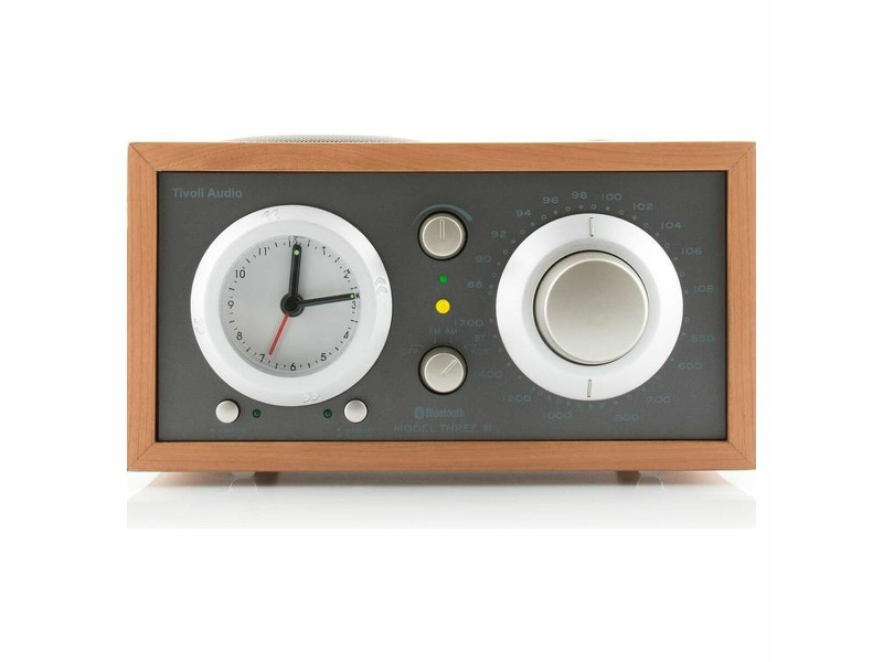Tivoli Audio Model Three BT Clock Radio Walnut M3BTTPE