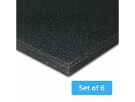 Cortex MATGYM15-SET6 Gym Floor Mat 15mm Rubber - Set of 6
