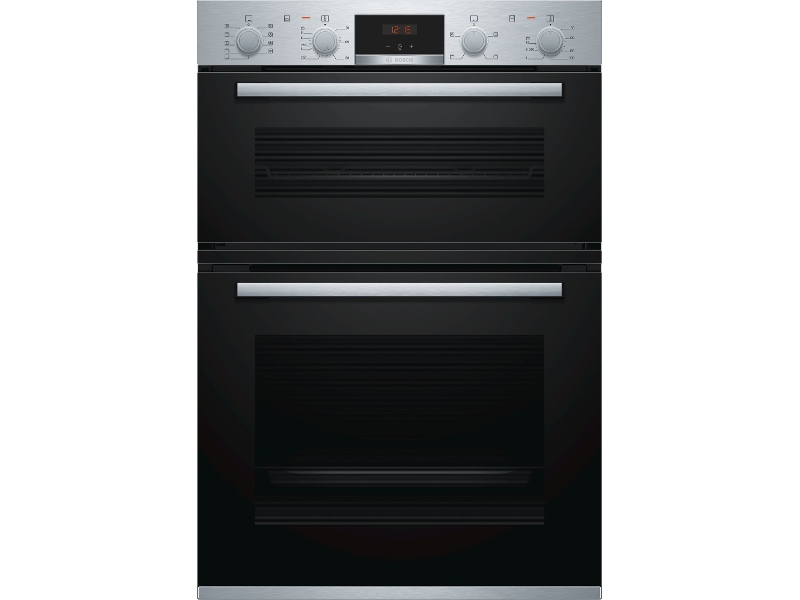 Bosch MBA534BS0A 60cm Serie 4 Built-In Double Oven