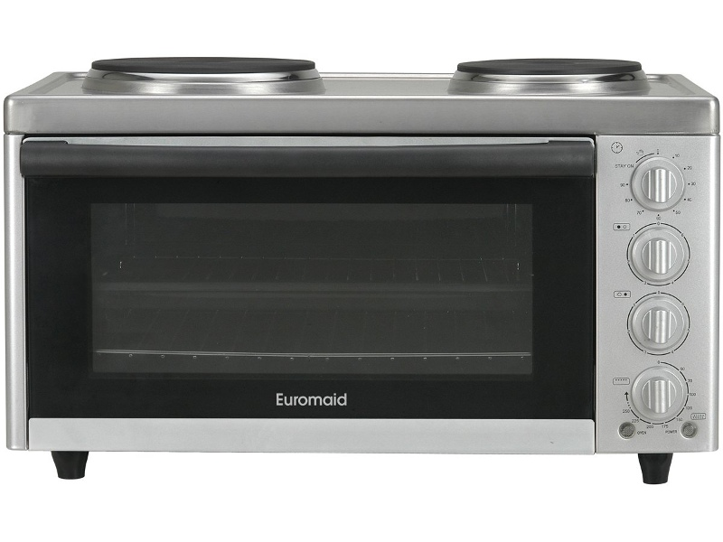 Euromaid MC130T Benchtop Oven with Cooktop