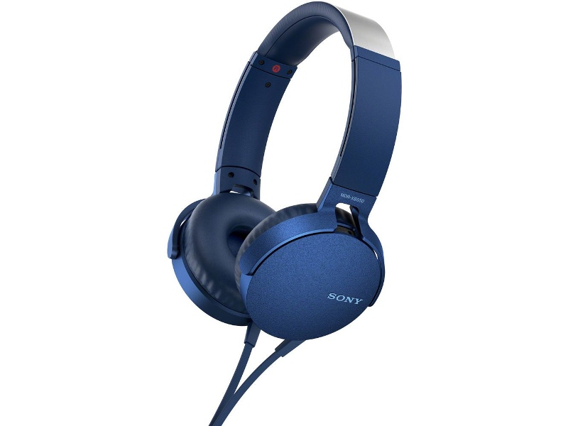Sony MDRXB550APL Extra Bass On Ear Headphone