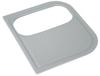 Appliances Online Blanco MEDGCBL Plastic Cutting Board