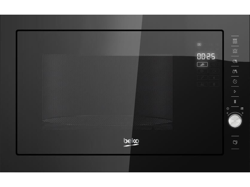 Beko MGB25333BG 25L Built-In Microwave Oven with Grill 900W