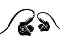Appliances Online Mackie MP Series Dual Hybrid Driver Professional In-Ear Monitors MK-MP-240
