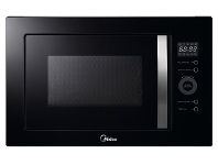 Appliances Online Midea MMWBI25B 25L Built-in Microwave with Grill 900W
