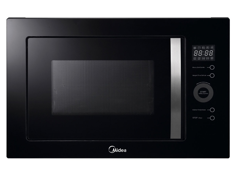 Midea MMWBI25B 25L Built-in Microwave with Grill 900W