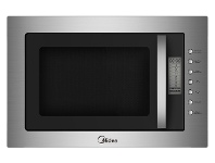 Appliances Online Midea MMWBI25SS 25L Built-in Microwave with Grill 900W