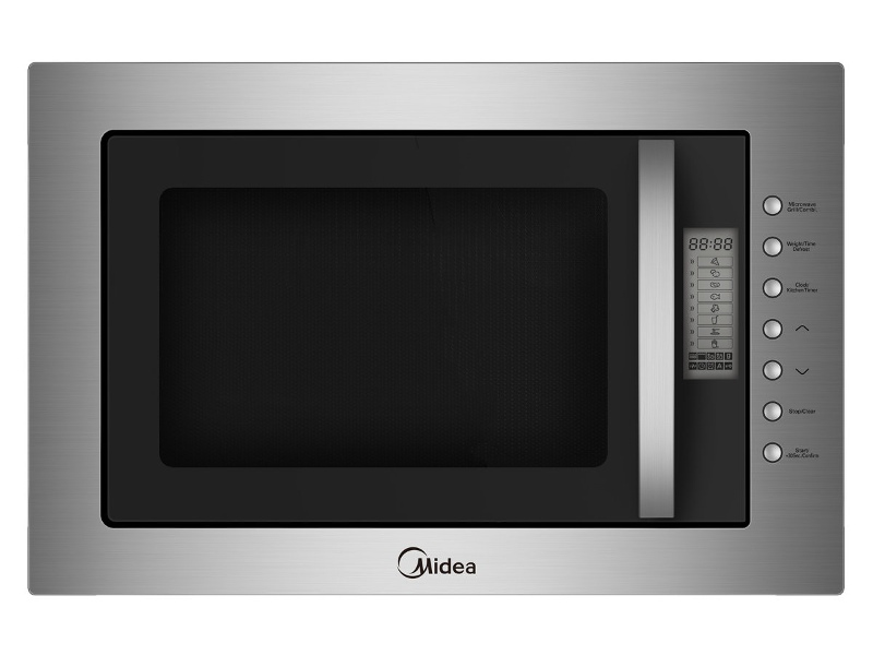 Midea MMWBI25SS 25L Built-in Microwave with Grill 900W