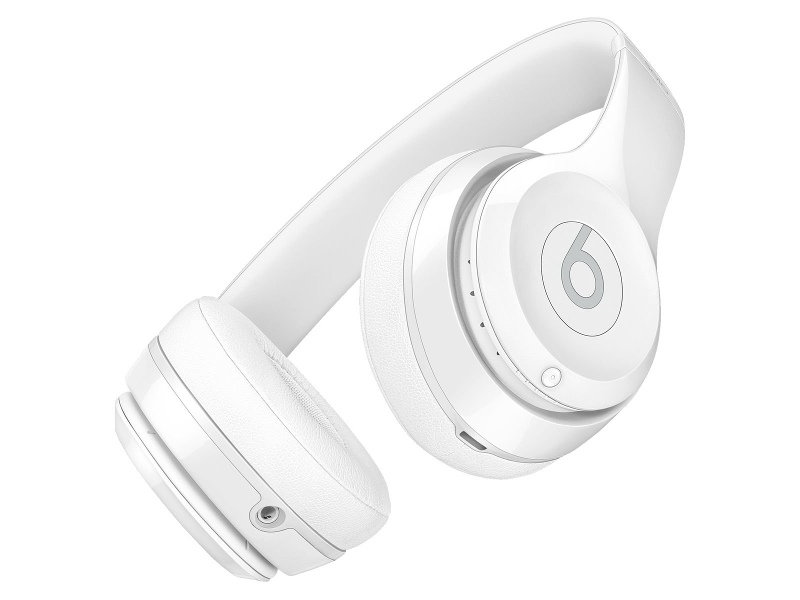 Beats MNEP2PA/A Solo3 Wireless Bluetooth On Ear Headphones Gloss White