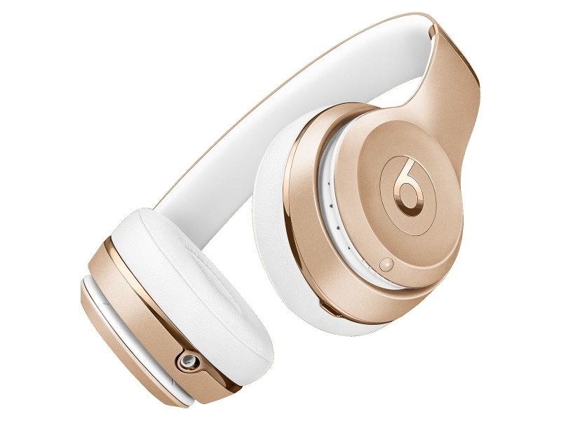 Beats MNER2PA/A Solo3 Wireless Bluetooth On Ear Headphones Gold