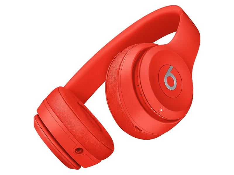 Beats MP162PA/A Solo3 Wireless Bluetooth On Ear Headphones Red