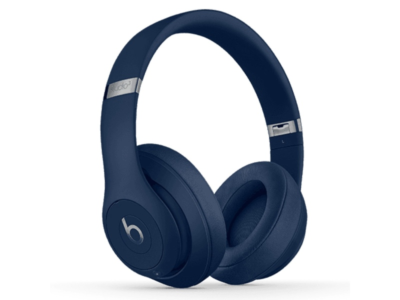 Beats MQCY2PA/A Studio3 Wireless Bluetooth Over Ear Headphones Blue