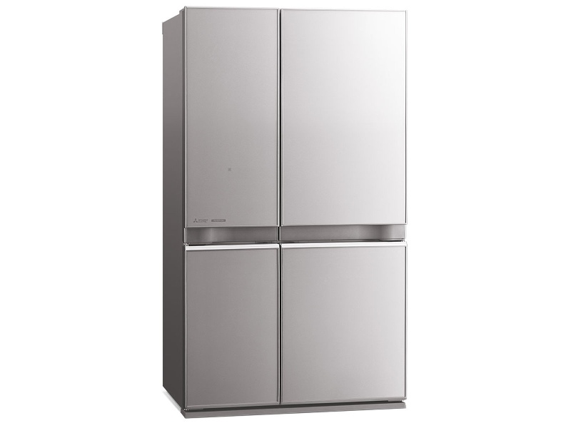 Mitsubishi Electric 650L L4 Glass Mini French Door Fridge MR-L650EN-GSL-A