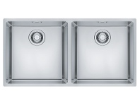 Appliances Online Franke Maris Double Bowl Sink MRX220-40/40