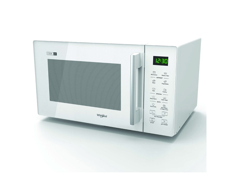 Whirlpool MWT25WH 25L Microwave with Steam Function