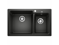 Appliances Online Blanco Naya 8 1 and 3/4 Bowl Inset Sink NAYA8BK5