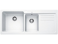 Appliances Online Blanco NAYA8SWK5 1 and 1/2 Bowl Right Hand Drainer Sink
