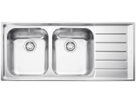 Appliances Online Franke NEX621RHD Neptune Double Bowl Right Hand Drainer Sink