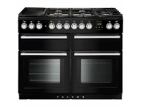 Appliances Online Falcon 110cm Nexus Series Freestanding Dual Fuel Oven/Stove NEXSE110DFBL-CH