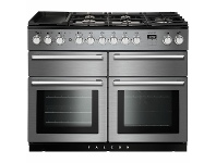 Appliances Online Falcon 110cm Nexus Series Freestanding Dual Fuel Oven/Stove NEXSE110DFSS-CH