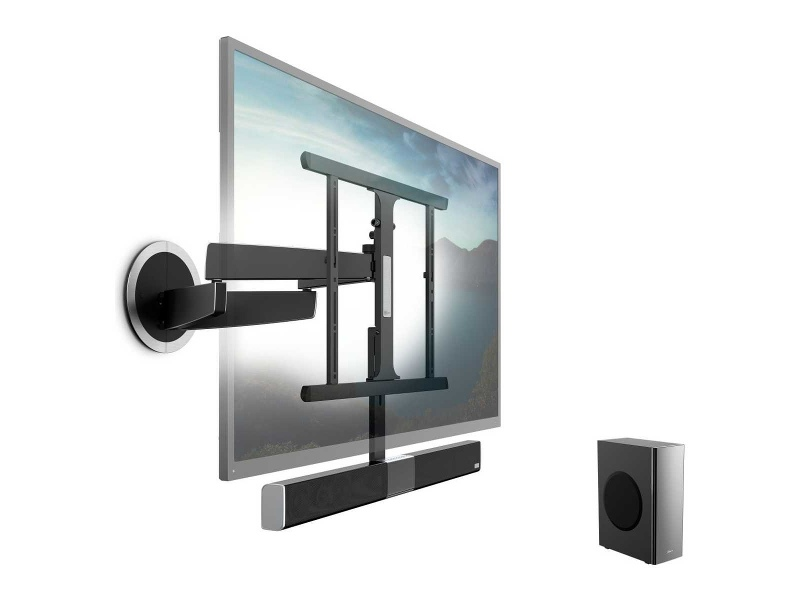Vogel's NEXT8375 Motorised Full Motion TV Wall Mount For 40 to 65 Inch TVs With Integrated Soundbar